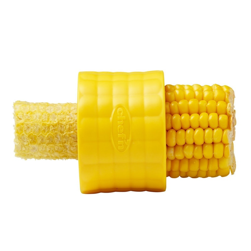 8. You Had One Job... Cut The Corn - Chef'n Corn Cob Stipper, $6, AmazonEven though corn can be easily obtained without a cob in this day and age, some people still want to do it themselves. This handy dandy tool allows you to strip corn in the blink of an eye. If you're looking for this important chef's tool to do anything else, you're going to have a bad time. It strips corn. That's all it does. Brass poles aren't the only thing useful for stripping anymore.