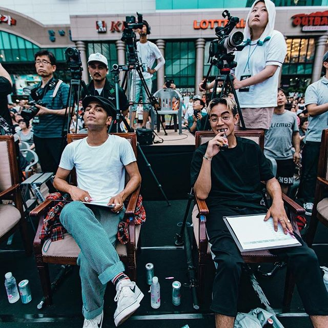 Can't wait to be back again in Korea in September  @bbickorea 🇰🇷/ Always support our family! @jinjo_official  Jinjo working hard for their  community, they deserve so much support and love! ✊🏽