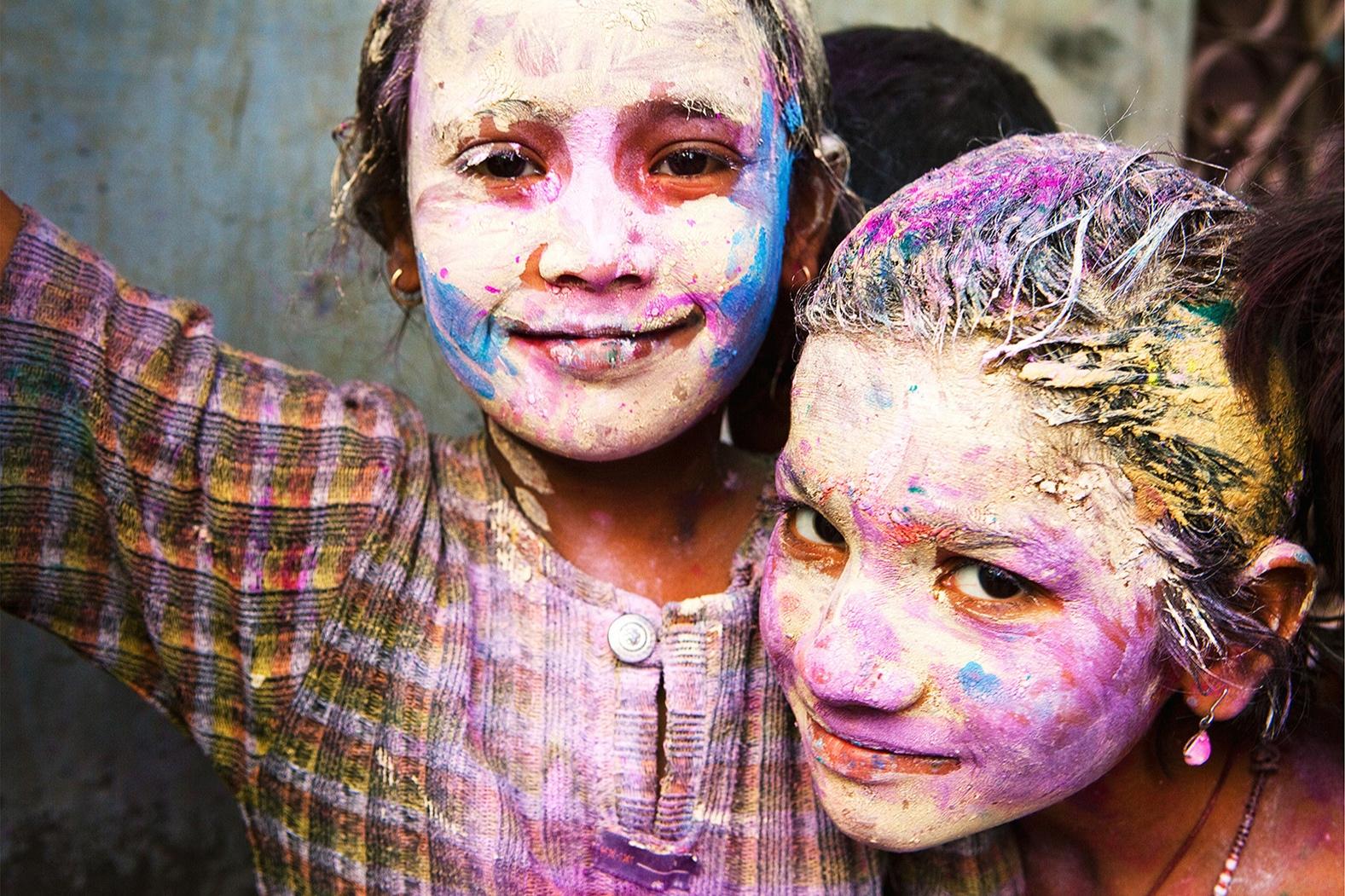 Copy of Vrindavan India, Holi festival India