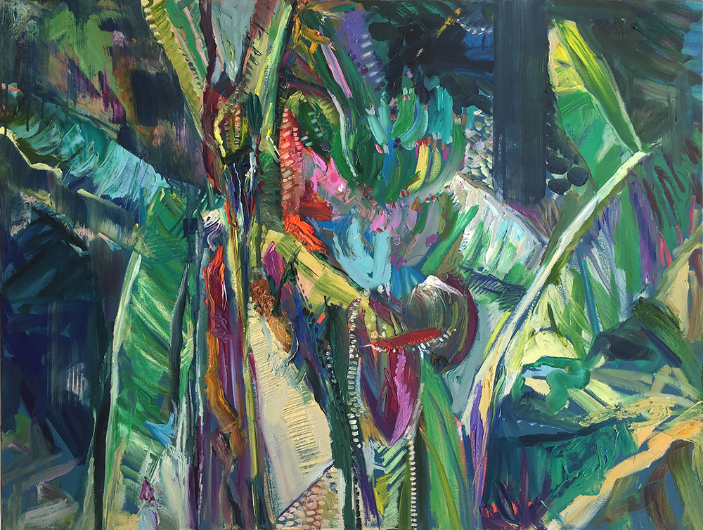 'Dark Forest'  Oil on Canvas  121cm x 91cm  2016  £4000