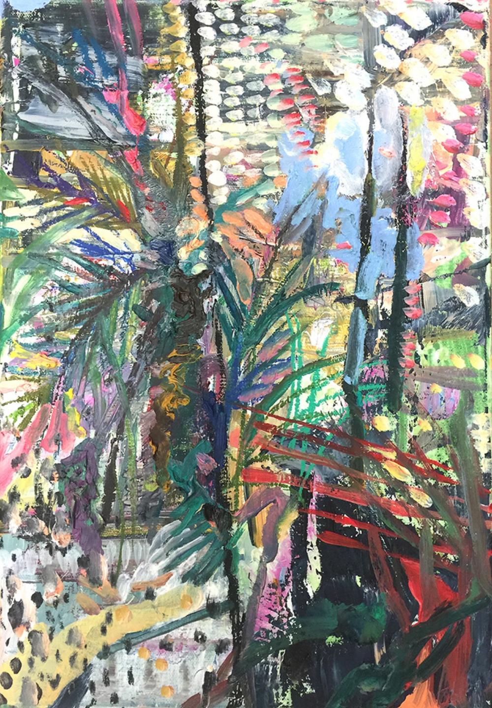 'Tree'  Oil on Canvas  38 x 25cm  2016  £600