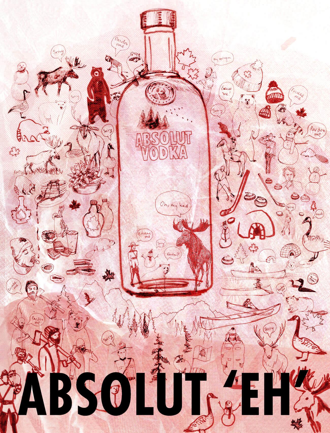 cora-marinoff-illustration-advertising-absolut-vodka-canada-eh