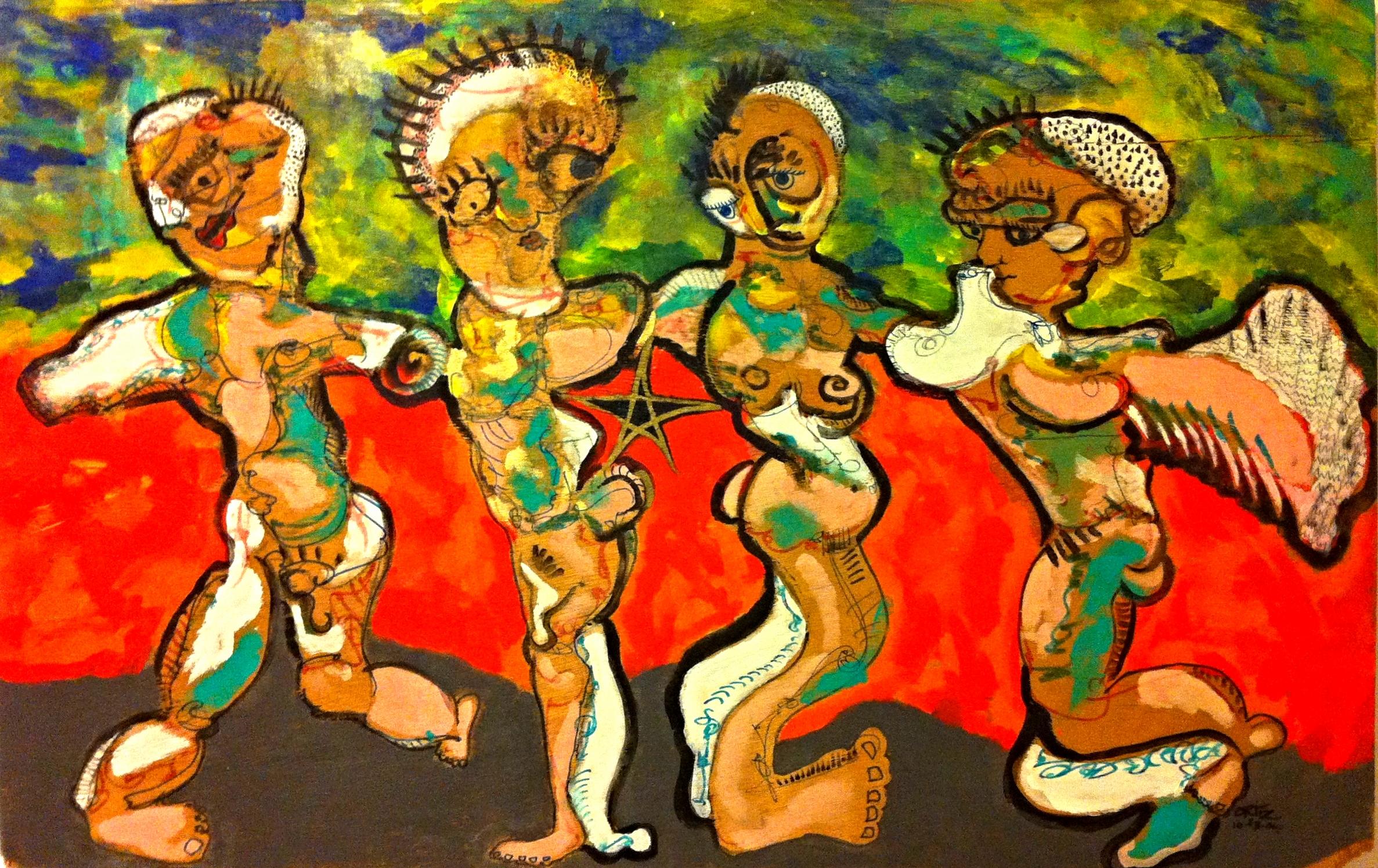 Dancers. Sold