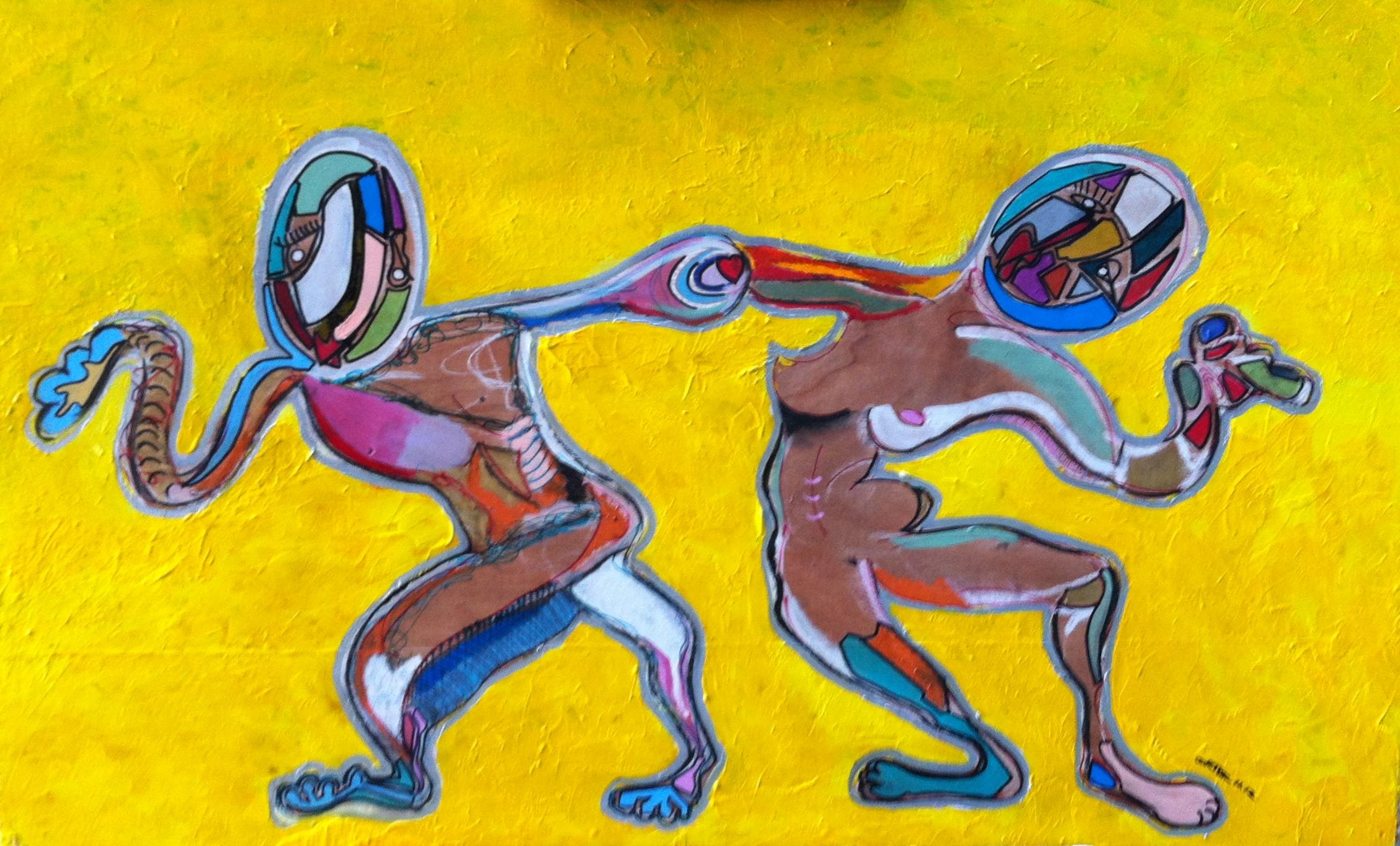 Dancers Two. Sold.