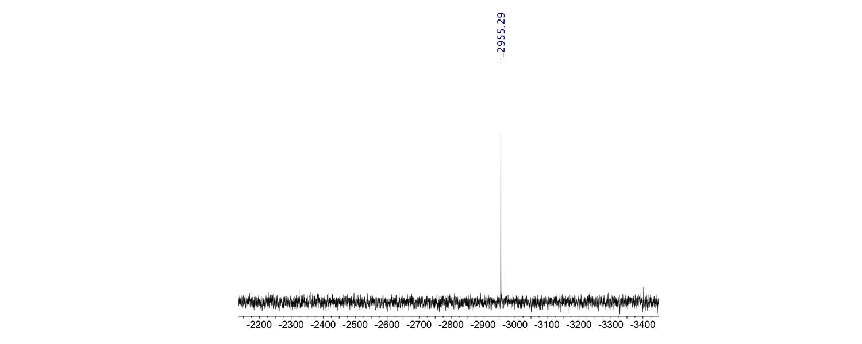 Figure 1 . 207Pb spectrum of Pb(NO3)2