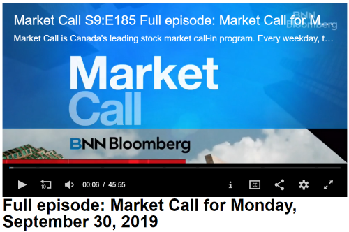 - NSCI Commentary onBNN Bloomberg Market Call