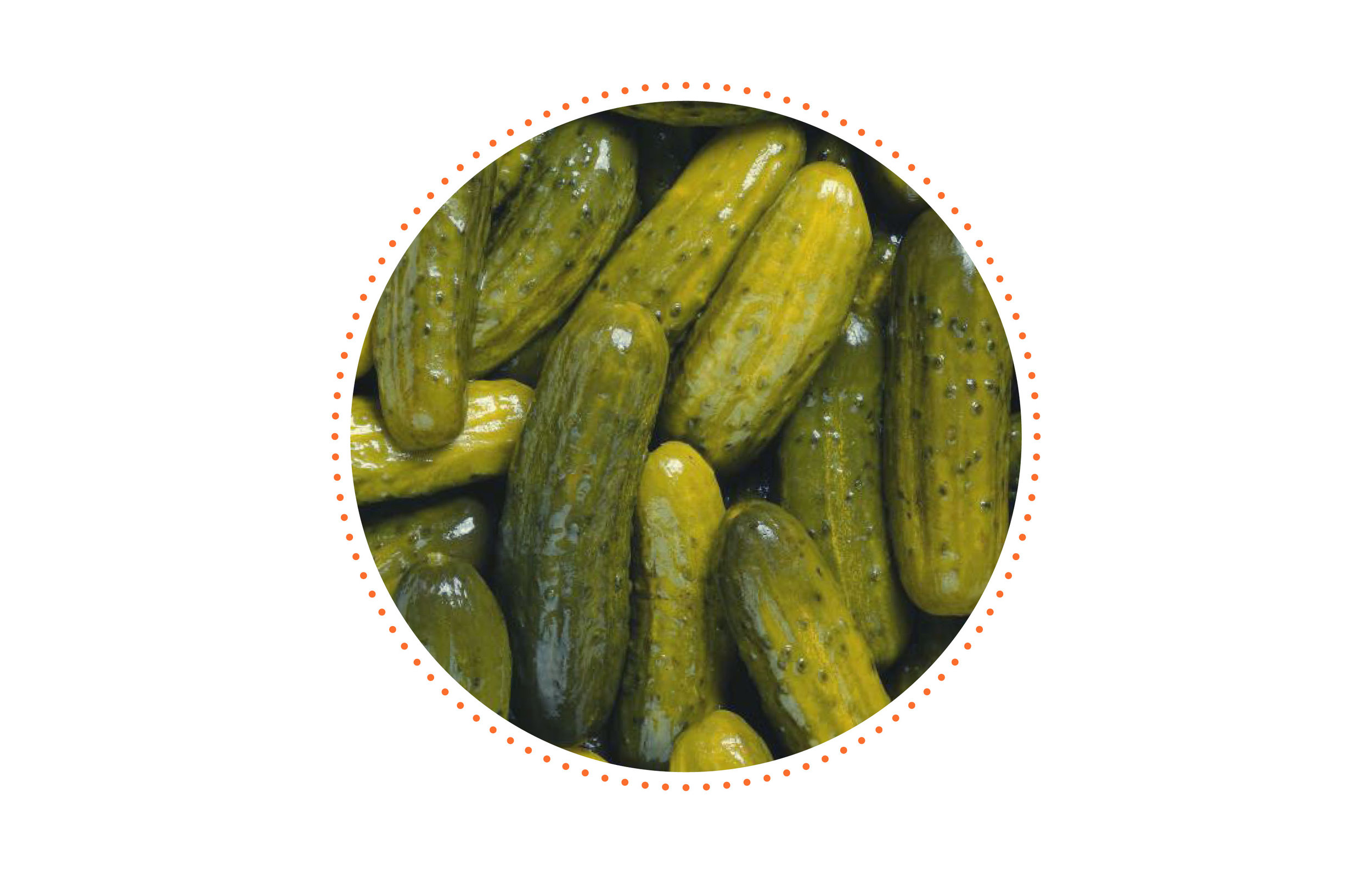 Little known fact? - I have never eaten a pickle — EVER!!! I know, I'm weird. I could write a book about the things I don't eat. It would probably make for an interesting coffee table book. haha