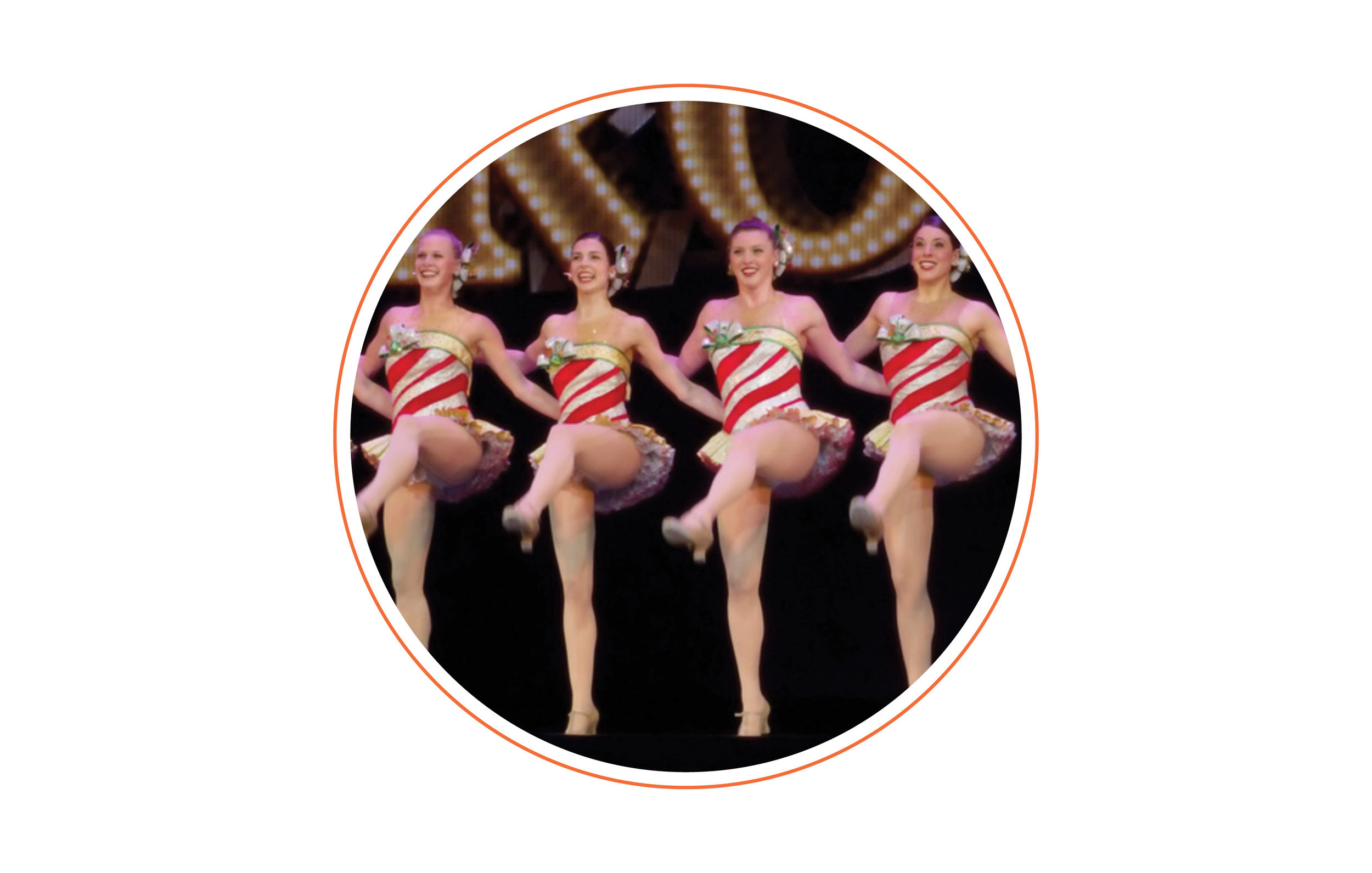 What did you want to be when you grew up? - A Rockette, but sadly I never reached the height requirement. Did you know Rockettes have to be between 5' 6