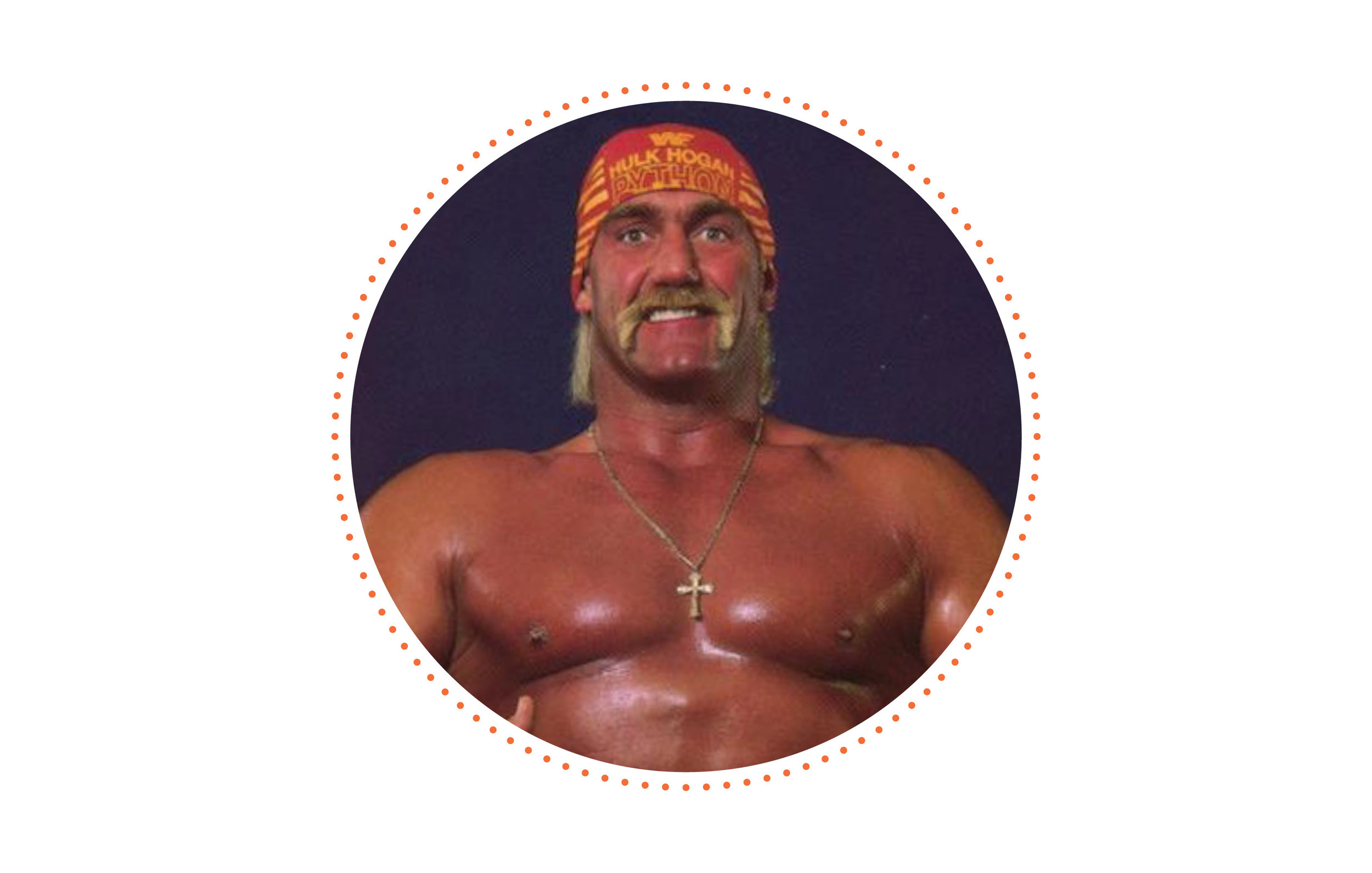 Brush with celebrity? - Met Hulk Hogan as a kid at a restaurant in Florida. (His hand was bigger than my entire body)