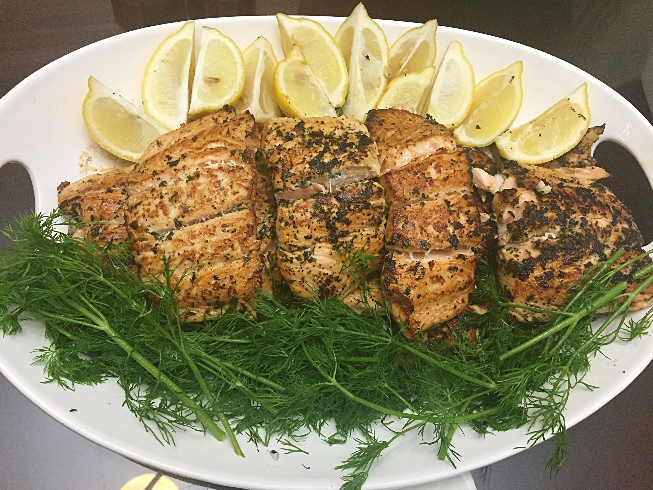 Sema's Simple and Delicious Salmon