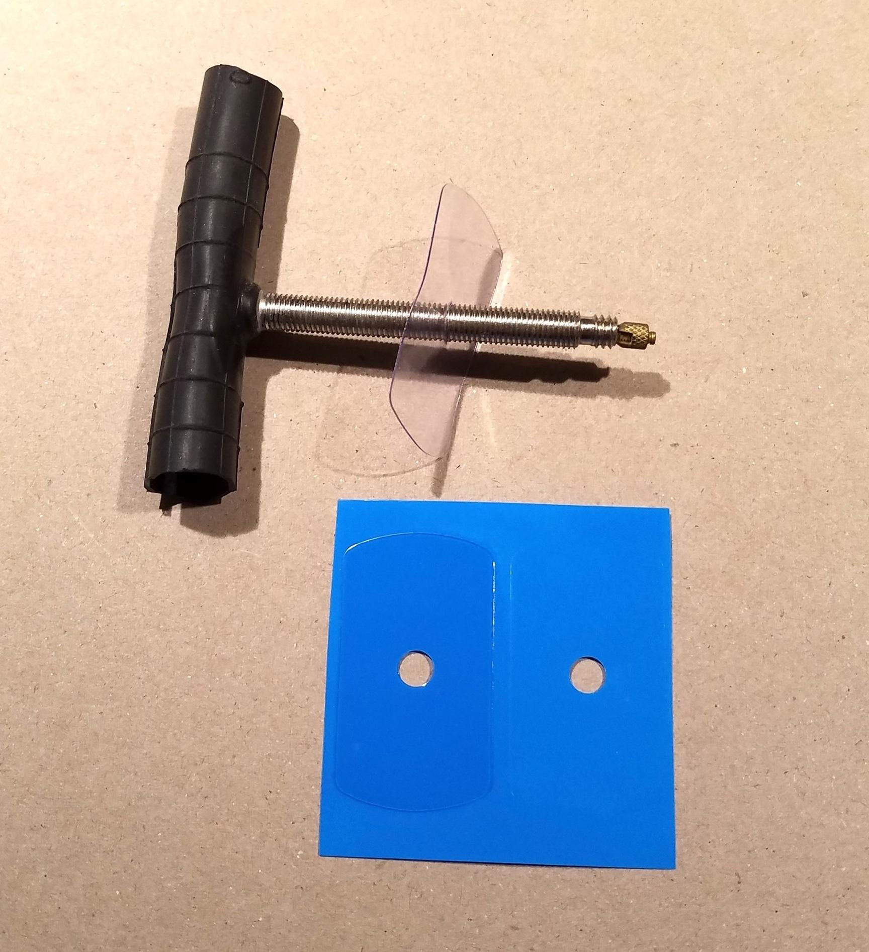 BIKETUBE valve anti-rattle sticker