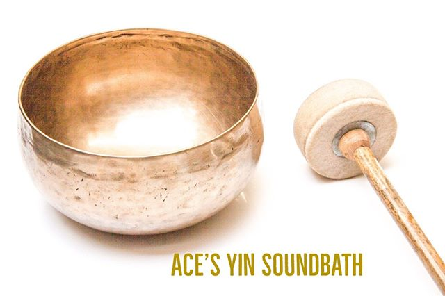 "Ace's Yin Soundbath is happening in Fullerton on March 24th at 6:30PM . Featuring one of our very own Teacher Trainees ""Chente"" and long time member Sterling Kwong, this event promises to provide soothing sounds and relaxing vibes . To sign up, visit our website at http://www.purpleyoga.org/workshops-and-events/ . Link up top"