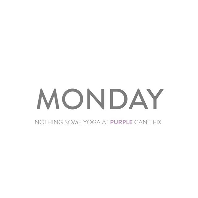Are we right, or are we right?⁣ ⁣ Who's class are you taking today to start your week out the best way?⁣ ⁣ Tag your favorite Monday yoga instructor!⁣