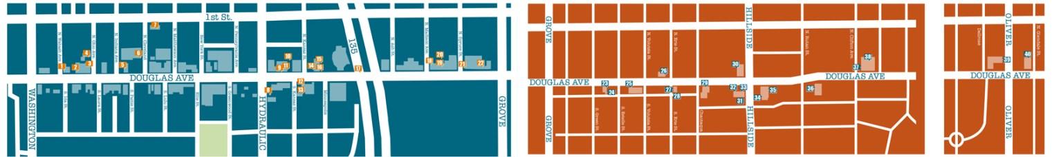 Avenue Art Days Map