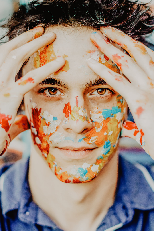"Josh Tripoli in VIP Magazine: "" Painting Pride "". Photography by Madison Ham"