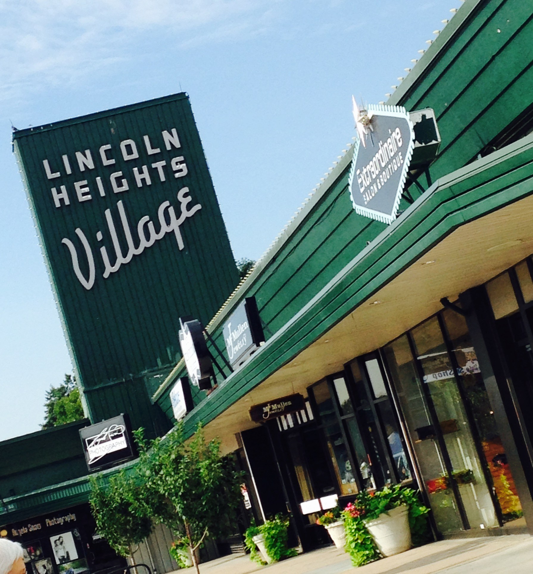 The Iconic Lincoln Heights Village Sign
