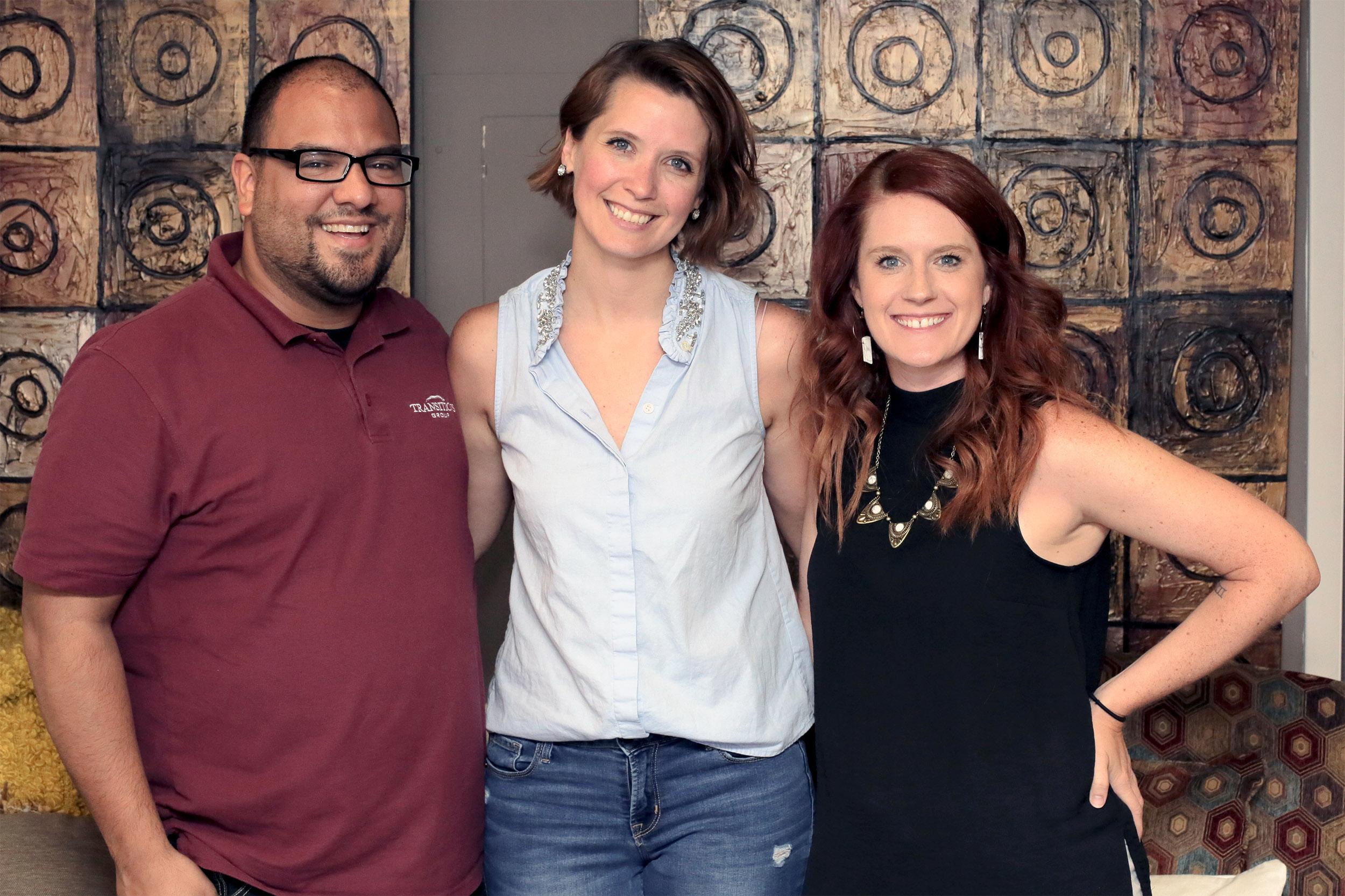 Jason Villanueva, Renee Duxler, Jordan Walker