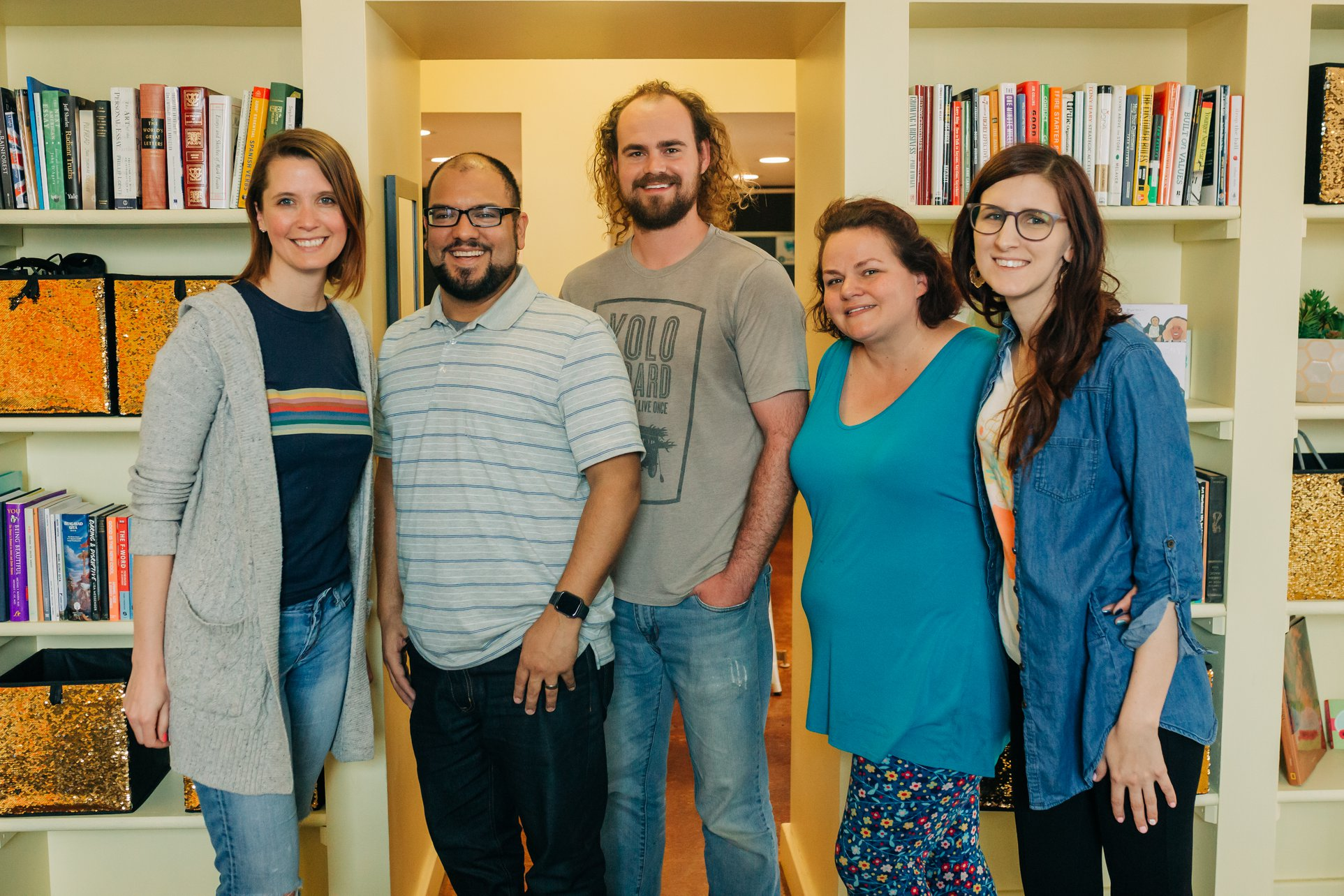 Renee joined Jason, Dylan, Rianne and Andrea at The Hive this month as a part of a joint collaboration with The Podcast Camp.