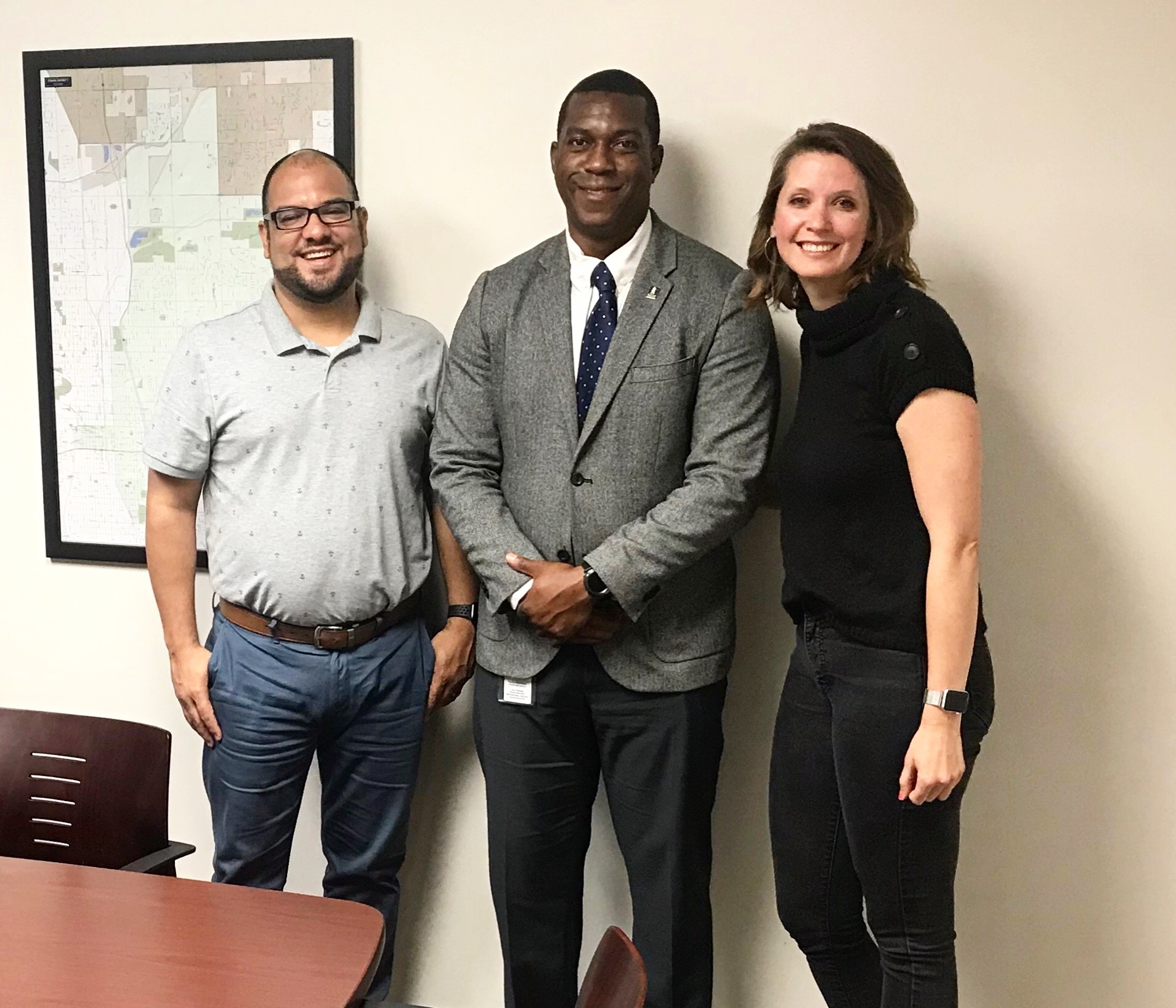 Jason and Renee sat down to talk with Councilmember Johnson at District 1's City Hall, the Atwater Center.