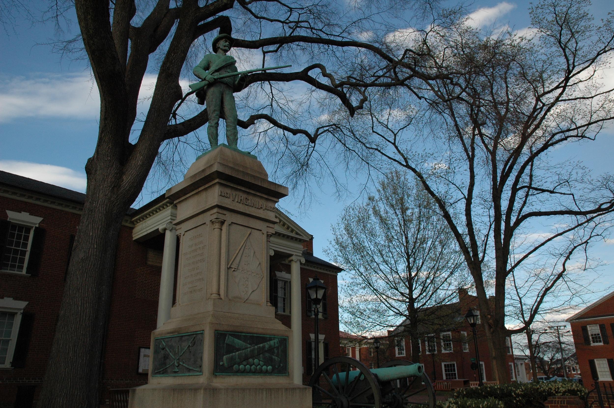 Virginia Monument Charlottesville Court Square.JPG