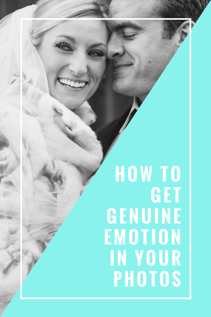 How to get (and photograph) genuine emotion!