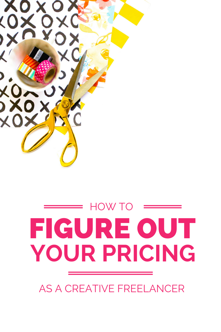 How to figure out what to charge for your products + services as a creative freelancer!