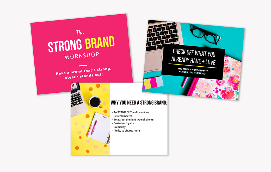 A totally FREE online mini course for bloggers, entrepreneurs and creatives who want a brand that's strong, consistent and totally awesome!