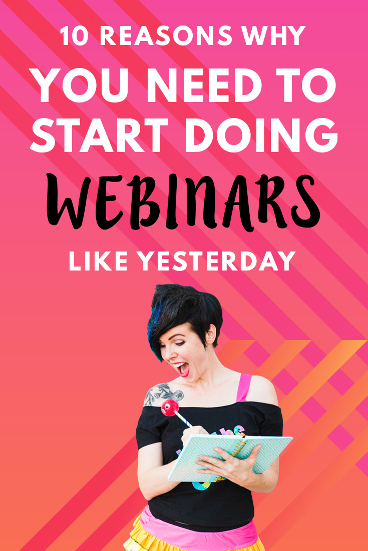 10 Reasons Why You Need to Start Doing Webinars (Like Yesterday!) How to do a webinar | Wonderlass
