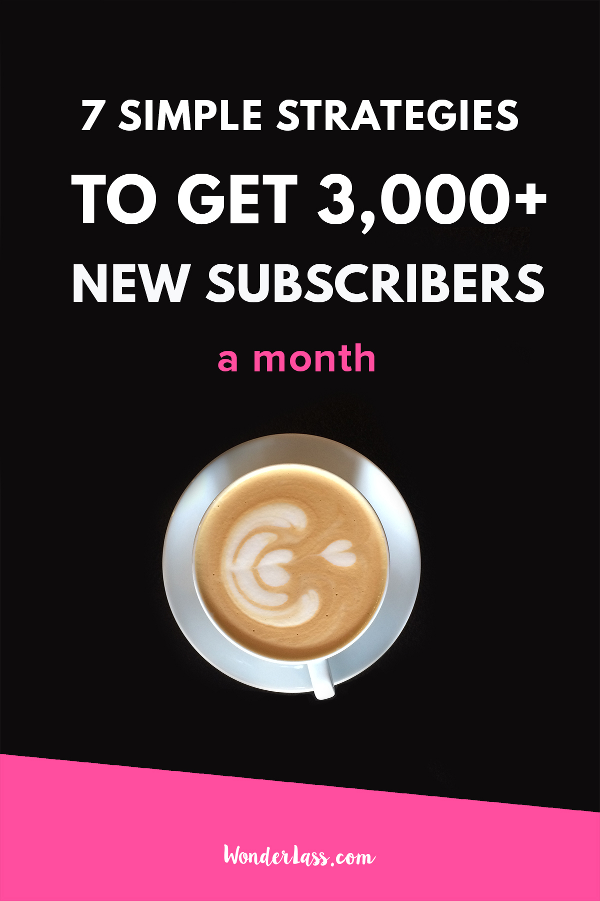 7 Simple Strategies to get 3,000+ Subscribers a Month