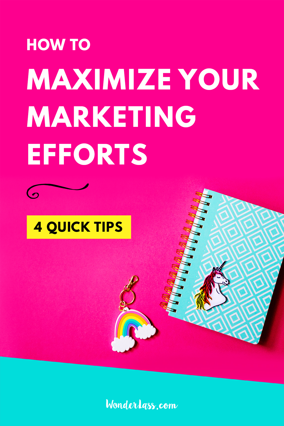 4 Quick Tips to Maximize Your Marketing Efforts   want to grow your audience and your income? Learn how to marketing your business more effectively!