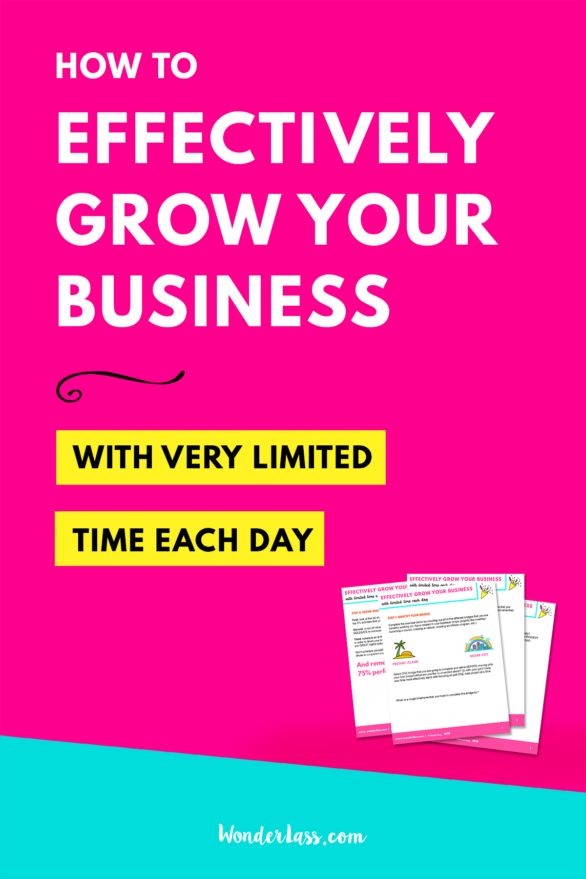 How to effectively grow your business with very limited time each day   Work SMARTER not harder!  Check out this short, actionable blog post + video to learn 6 simple steps that you can take TODAY to start seeing more progress and better results in your online business when you only have small amounts of time each day to work on it!  #goalsetting #productivitytips #todolist #savetime #businessplanning