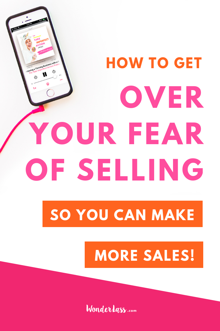Here's how to Get Over Your Fear of Selling (So That You Can Make More Sales!) #entrepreneurmindset #selfcaretips #mentalhealth #selfcareideas #businesstips