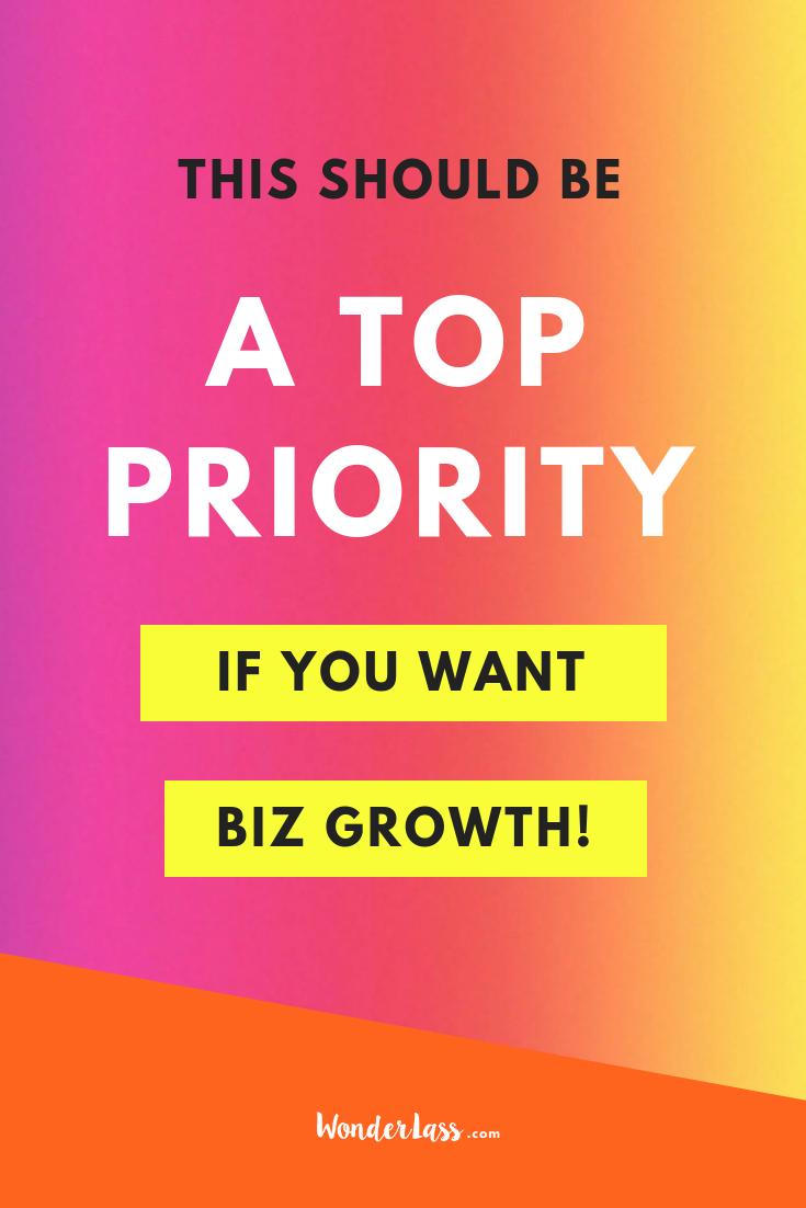 This Should be a TOP Priority (If You Want Biz Growth!) #entrepreneurmindset #selfcaretips #mentalhealth #selfcareideas #businesstips