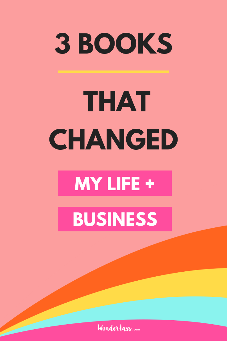 3 Books that changed my life AND grew my business!  #businesstips #onlinemarketing #emaillist #passiveincome #contentmarketing