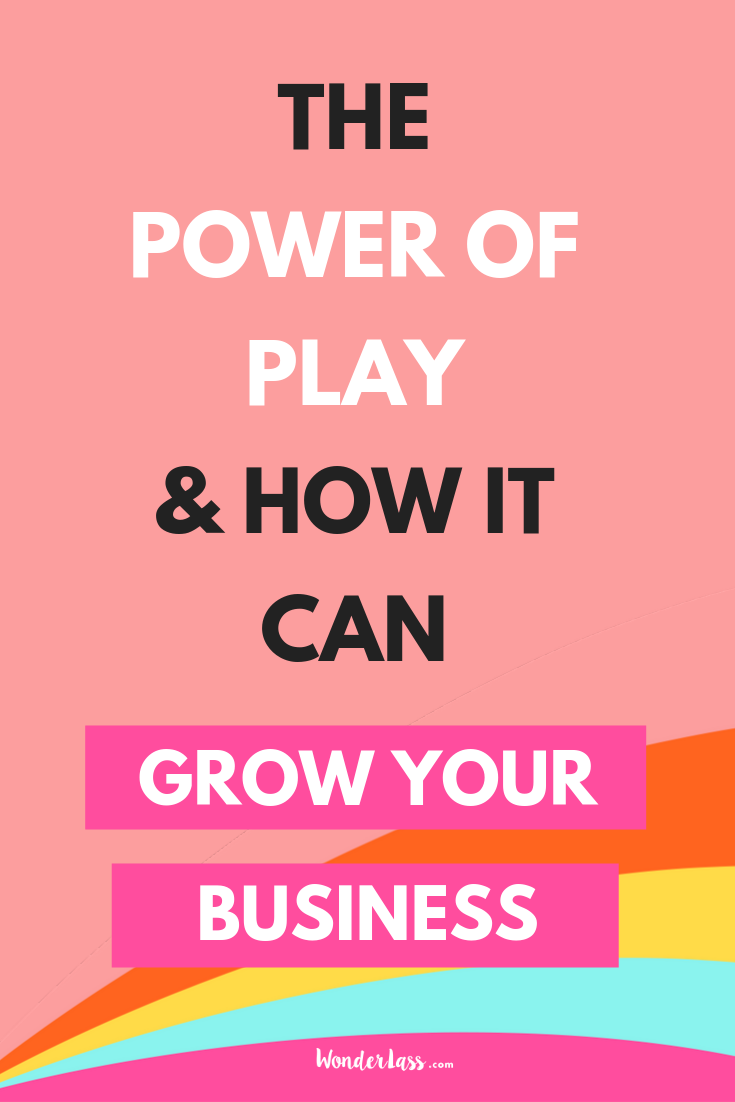 Ever wonder how you can grow your business more? Play more! Click through to read how PLAYING more will actually grow your business more. #entrepreneurmindset #selfcaretips #mentalhealth #selfcareideas #businesstips
