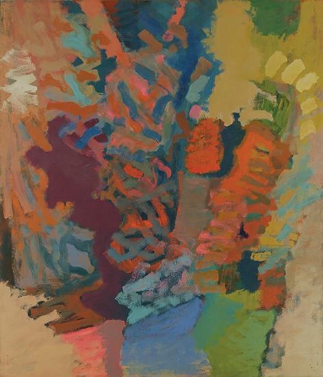 """Eros   , 1960,Oil on Linen, 84"""" x 72"""""""