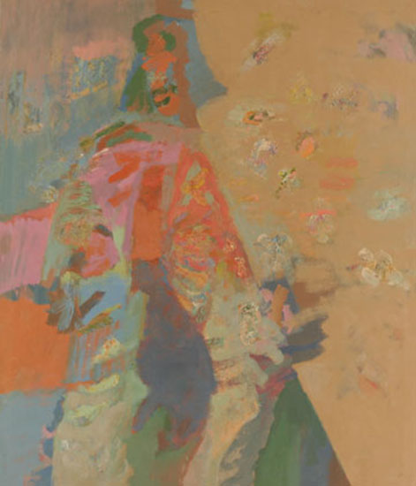 """Compassion Series   , 1957,Oil on Linen, 84"""" x 72"""""""