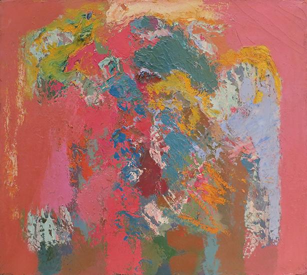 """Broken Idol   , 1962,Oil on Linen, 18""""x20"""""""