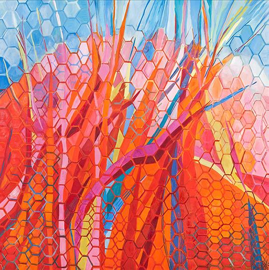 "Genesis IV   , 2010,Oil on Canvas, 72"" x 48"""