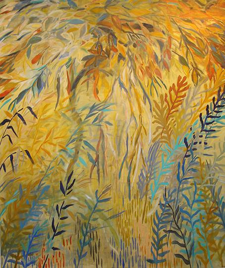 """Zauberwald V   , 2008,Oil on Canvas, 66"""" x 56"""""""
