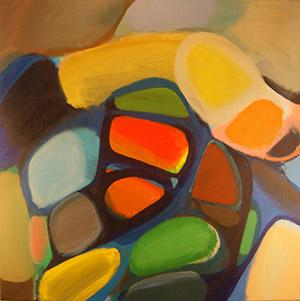 "Untitled  , 2014, Acrylic on canvas, 36""x 36"""