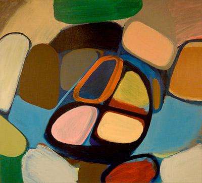 "Untitled  , 2015, Acrylic on canvas, 36"" x 40"""