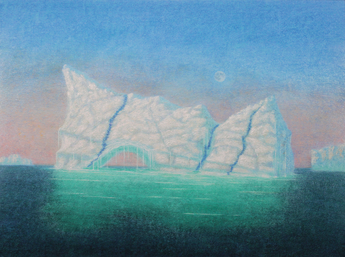 "Drifters ,  2012,Oil on canvas, 36"" x 48"""