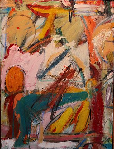 "Jim McCaul,  Faust  ,2012, Oil on canvas, 18"" x 24"""