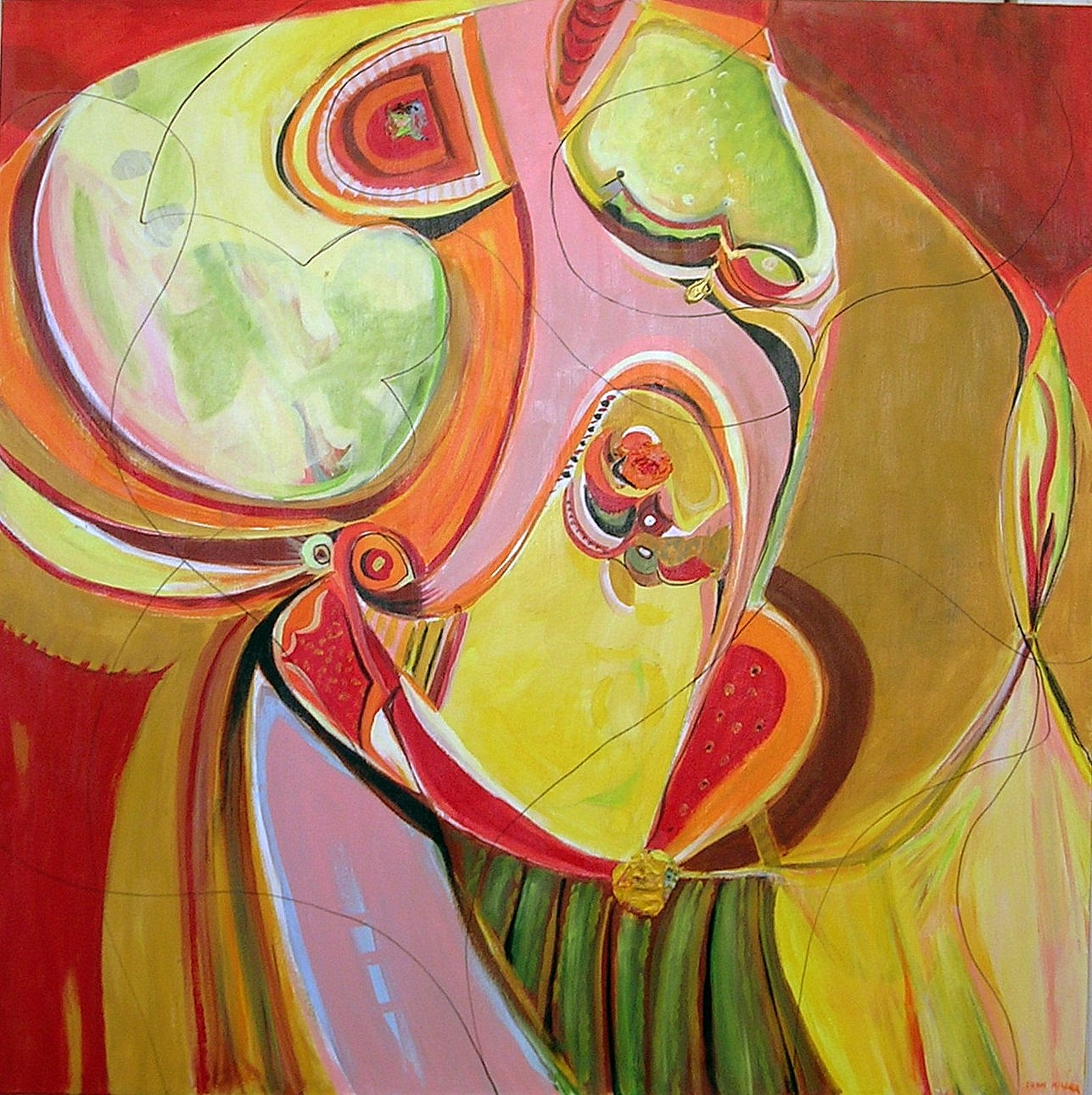 Joan Miller,   Flying Colors #11  , 2010, Acrylic on Canvas, 36'' x 26''