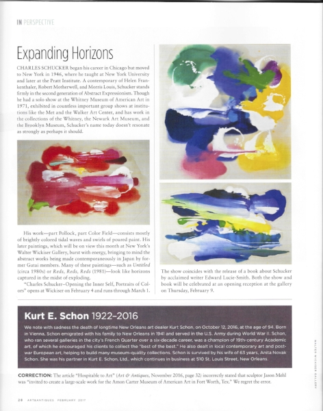 Art & Antiques   In Perspective, February 2017