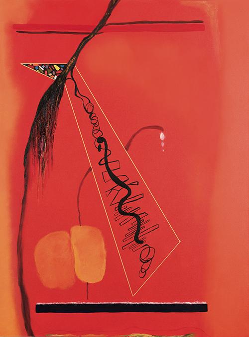 """Tear Drops , oil on canvas, 48"""" x 36"""", 2005"""