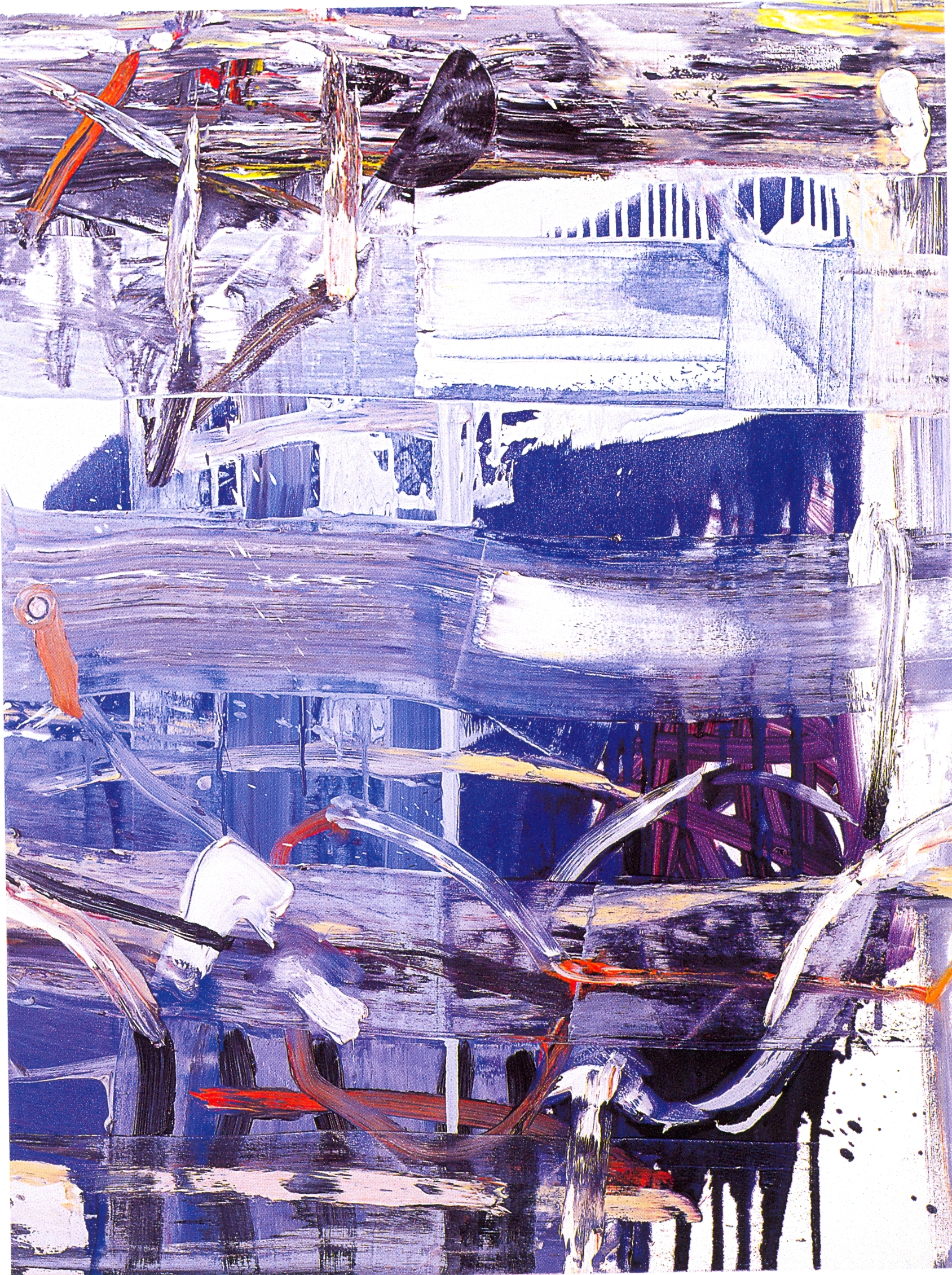 "Philipa Blair,   Stretchout,   2002, Oil on Canvas, 48"" x 36"""