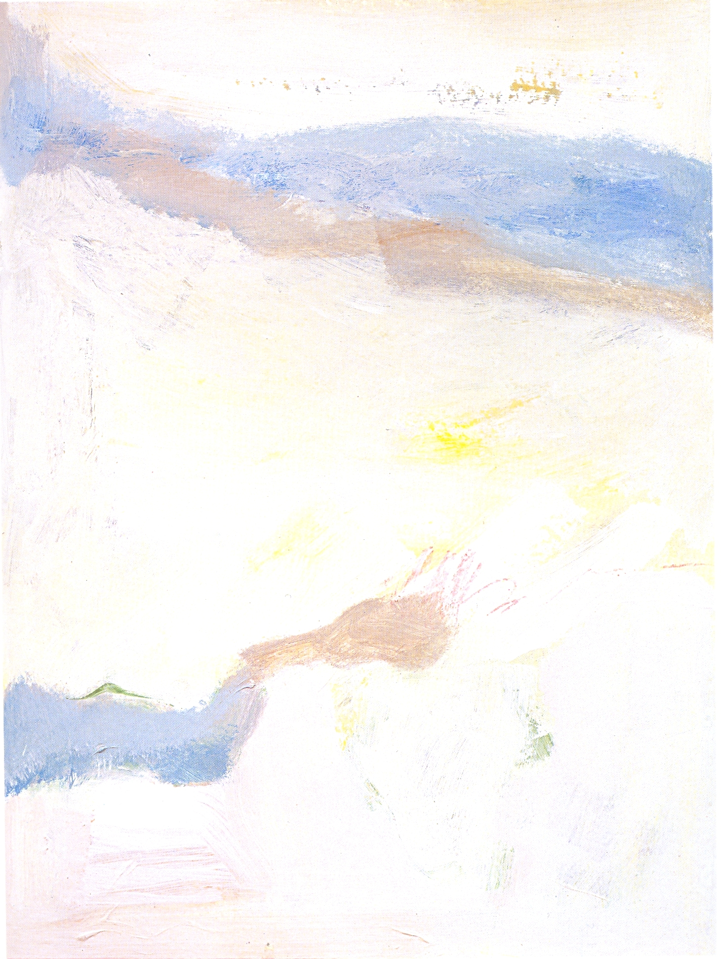 """California Dreaming,   2002, Acrylic on paper, 30 1/4"""" x 22 1/4"""""""