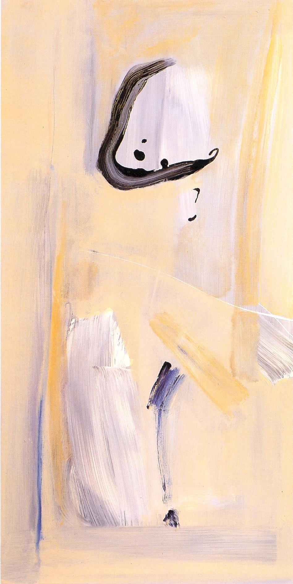 """Asia I,   2002, Acrylic on canvas, 48"""" x 24"""""""